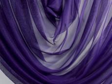 "Soft Net Stretch Tulle 60""W - Dark Royal Purple"