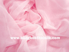 "Soft Net Stretch Tulle 60""W - Pink"