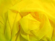 "Soft Net Stretch Tulle 60""W - Lemon Yellow"