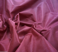 "Faux Silk Caprice Dupioni 60""W Fabric - Dark Dusty Rose"