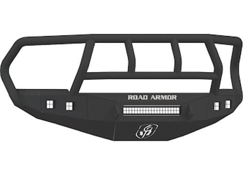 10 14 dodge ram hd titan ii front bumper satin black fits 20in 20in led light bar image 1 aloadofball Gallery