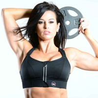 Shefit Ultimate Sports Bra in Black