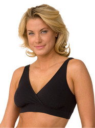 The Organic Easy Bra, Black