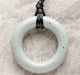 Teething Bling Ring Pendant, Moonstone