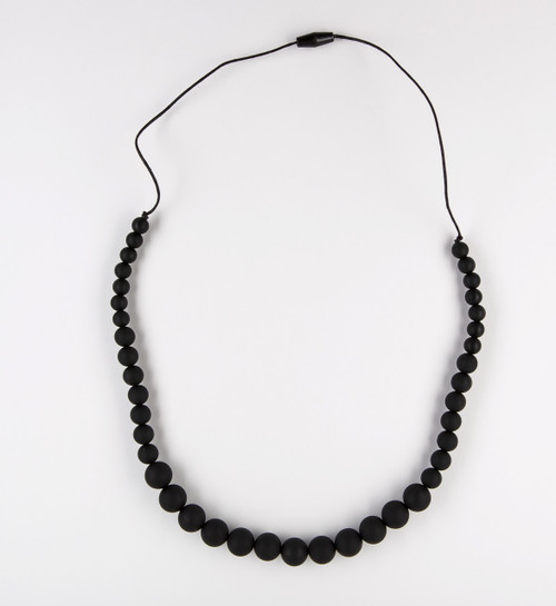 Teething Bling Graduates Necklace in Black