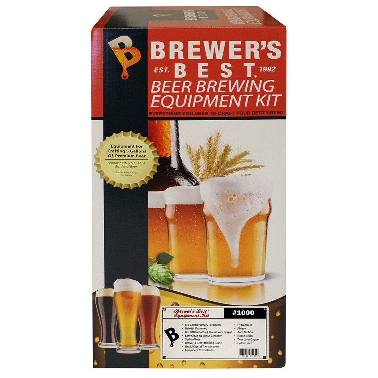 Brewers Best Beer Home Brewing Equipment Kit - Home Brew Ohio