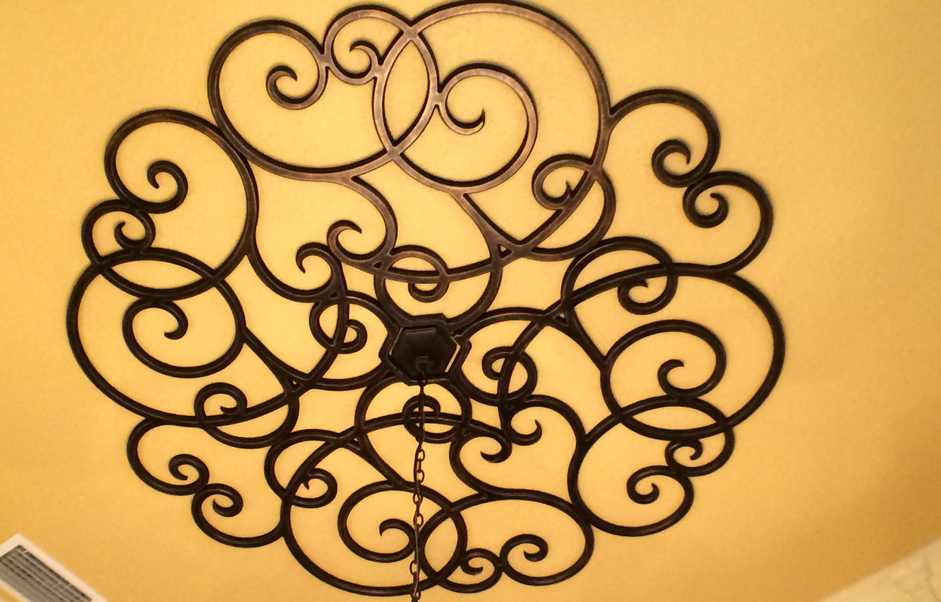 Exelent Decorative Wrought Iron Wall Art Ensign - Wall Art ...