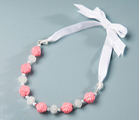 DIY Kit - Pinkberry Bow Necklace