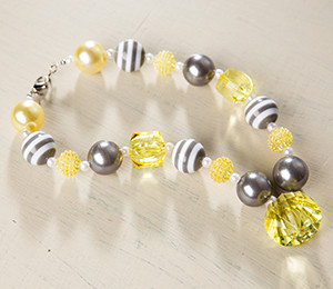 DIY Kit - Grey of Sunshine Necklace
