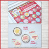 Christmas Countdown Advent w/Bottle Cap Magnets Printable DOWNLOAD