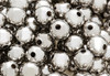 Silver Round Spacer Beads 6mm