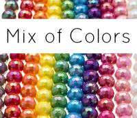 AB Faceted Chunky Beads MIX 12mm (50 pack)