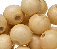 Round Wooden Beads 10mm (150 pack)
