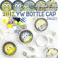 "2017 YW Theme, James 1:5-6, Ask of God - 1"" Bottle Cap Images Printable DOWNLOAD"