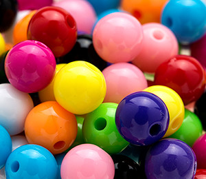 Gumball Beads 8mm