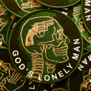 God's Lonely Man Patch