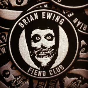 FIEND CLUB PATCH - SILVER