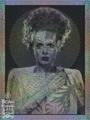 """THE BRIDE"" Silver Scream Colorway FOIL"