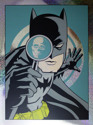 """Detective Comics #776"" Dark Knight Colorway FOIL"