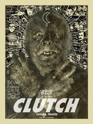 """"""" CLUTCH"""" HELLFEST"""
