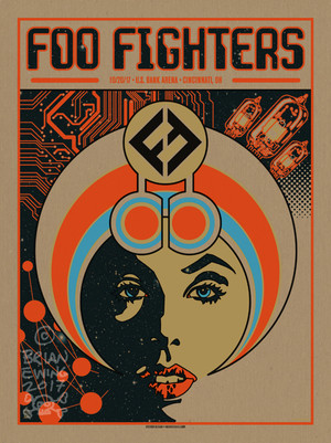 """  FOO FIGHTERS"" CINCI pulp"