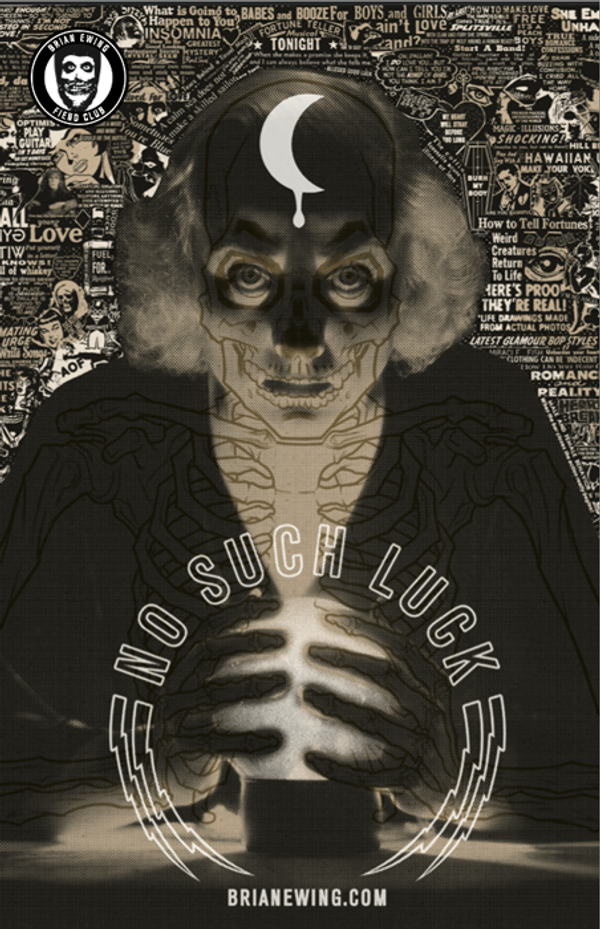 NO SUCH LUCK: 2015 BOOK