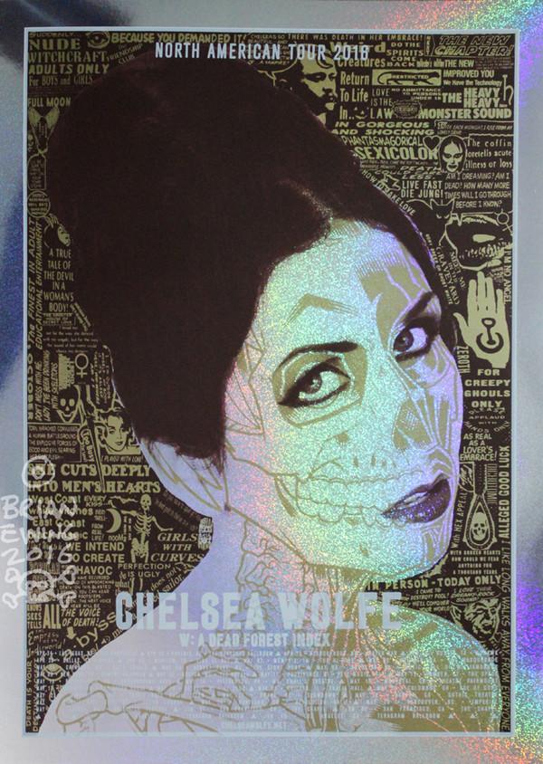 """Chelsea Wolfe Sparkle Foil - VARIANT"""