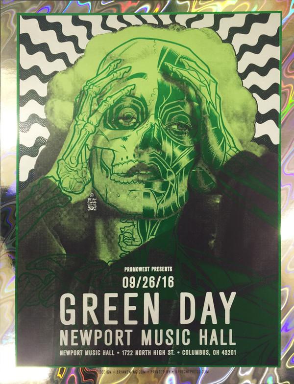 """""""GREEN DAY"""" FOIL AP"""