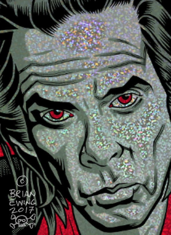 """""""  NICK CAVE & THE BAD SEEDS"""" - FOIL A/P"""