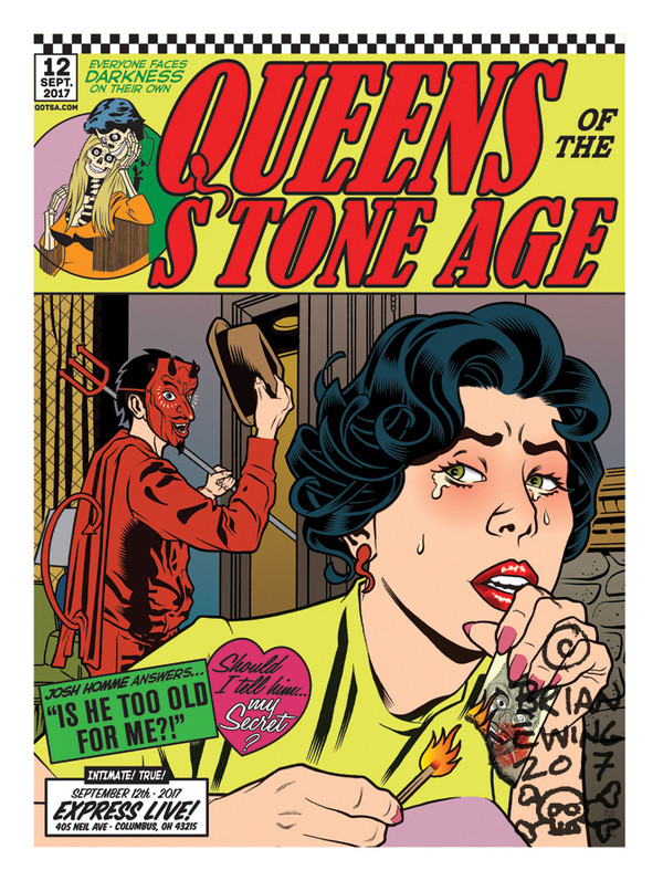 """""""  QUEENS OF THE STONE AGE"""" 6 regular"""