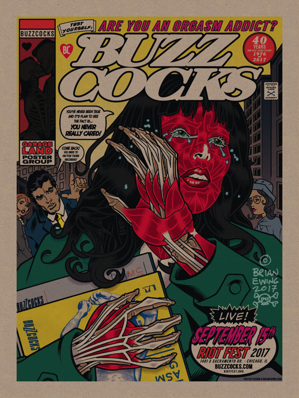 """""""  BUZZCOCKS"""" DIRTY PULP variant"""