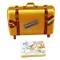 Budapest Suitcase Rochard Limoges Box