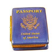 American Passport Rochard Limoges Box