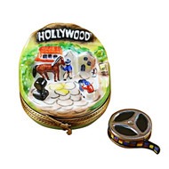 Hollywood With Removable Movie Reel Rochard Limoges Box