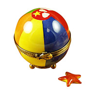 Beach Ball With Starfish Rochard Limoges Box