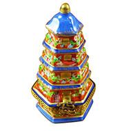 Pagoda Rochard Limoges Box