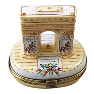 Arc De Triomphe Rochard Limoges Box