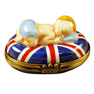 George Alexander Louis Of Cambridge On Union Jack Rochard Limoges Box