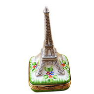 Eiffel Tower - Platinum Rochard Limoges Box