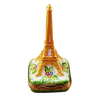 Eiffell Tower - Gold Rochard Limoges Box