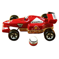 Formula One Race Car Rochard Limoges Box
