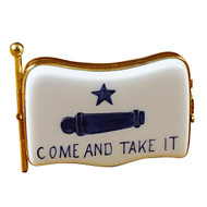 Come And Take It Flag Rochard Limoges Box