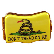 Don'T Tread On Me Flag Rochard Limoges Box
