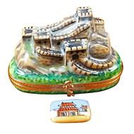 Great Wall Of China Rochard Limoges Box