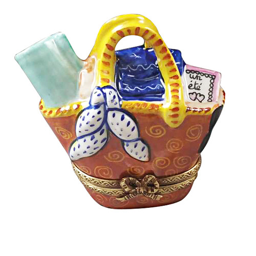 Beach Bag With Removable Shell Rochard Limoges Box