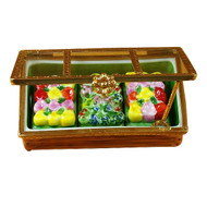 Greenhouse W/Flower Trays Rochard Limoges Box