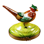 Limoges Imports Pheasant Limoges Box