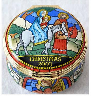 Halcyon Days 2003 Christmas Box