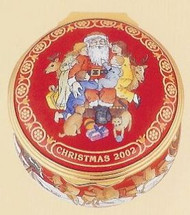 Halcyon Days 2002 Christmas Box