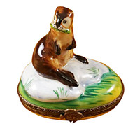 Limoges Imports Prairie Dog Limoges Box